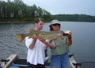 illinois muskie fishing